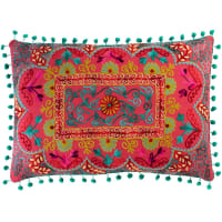 cotton cushion, multicoloured 30 x 50cm Copiaco