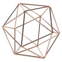 Copper-Colour Metal Wire Ball D12 Copper