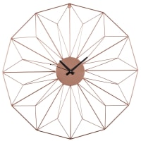 Copper Metal Wire Clock D80 Akimi