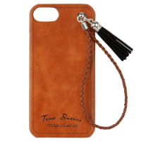 Coque IPhone 6/7/8 marron imprimé Basics