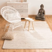 Cotton and Jute Rug 160 x 230 Barcelone