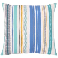 Cotton Cushion Cover with Print 40x40 Athenes