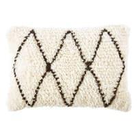 Coussin berbère en laine et coton 40x60 Isma