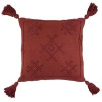 BOMONTI - Coussin en coton violet 45x45