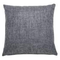 Coussin en tissu gris 45x45cm Andy