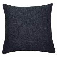 Coussin en tissu gris charbon 60x60 Chenille