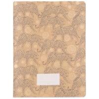 Cuaderno de notas con estampado de leopardo