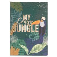 Cuaderno de notas con estampado exótico Jungle