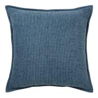 Cuscino blu cobalto 45x45cm Chenille