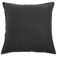 Cuscino color antracite in lino slavato 45x45 Handang