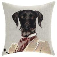 Cuscino con cane 45 x 45 cm Edgar