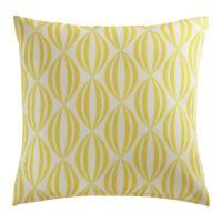 Cuscino giallo/bianco da esterno 45x45 cm Filao