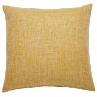 Cuscino giallo in tessuto 45x45cm Andy