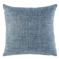 Cuscino intessuto jacquard blu pavone, 45x45 cm Andy