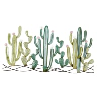 Déco murale cactus en métal 136x68 Atacama