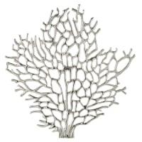 Déco murale corail en métal 79x82 Antibes