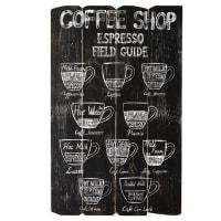 Déco murale imprimée 59x96 Coffee Store