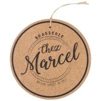 Dessous de plat en liège Chez Marcel