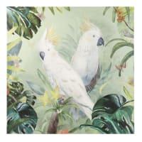 Doek met papegaaien 120x120 Rosario