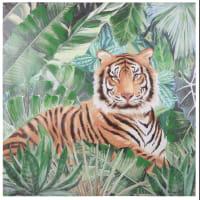 Doek met tijgerprint 80x80