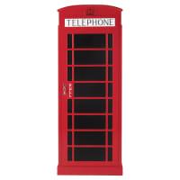 Dressing cabine téléphonique rouge Phonebox