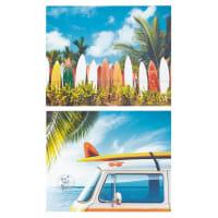 Ensemble de 2 toiles Surf
