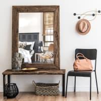 Espejo de madera reciclada 90x120 Namibie