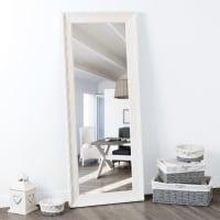Espejo de paulonia blanco 145x59 Valentine