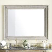 Espejo de paulonia gris 110x140 Donatien