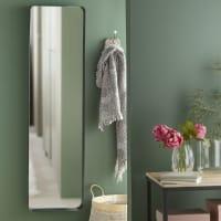 Espejo de pie de metal negro 41x151 Weston