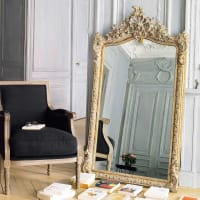 CONSERVATOIRE - Espejo dorado 85x153