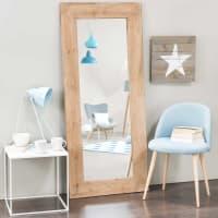 KEY WEST - Espelho de madeira de abeto altura 160