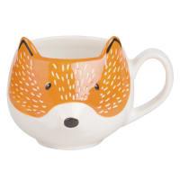 Fayence-Becher Fuchs Foxy