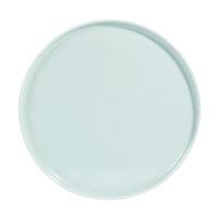 HELSINKI - Set aus 6 - Flacher Teller aus Keramik, blau