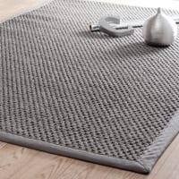 Flechtteppich aus Sisal, grau 200x300cm Bastide