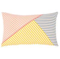 Fodera di cuscino in cotone a righe colorate, 30x50 cm Lines