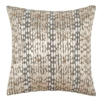 Fodera di cuscino in cotone dorato, 40x40 cm Lexa