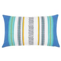 Fodera di cuscino in cotone stampato, 30x50 cm Larissa