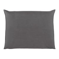 Fodera di testata da letto grigio perla 140 cm Soft