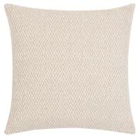 CIMAHI - Fodera per cuscino beige ed écru 40x40 cm