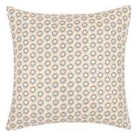 LIMINKA - Lotto di 2 - Fodera per cuscino in cotone motivi grafici, 40x40 cm