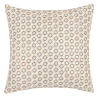 LIMINKA - Lote de 2 - Funda de cojín de algodón con motivos gráficos 40x40