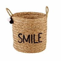 Geborduurde gevlochten mand Smile Joy