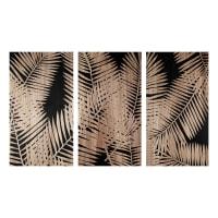 Gegraveerde drieluik met bladmotief 150x90 Palmista
