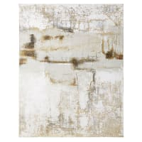 CHESTER - Gemaltes Reliefbild 120x150