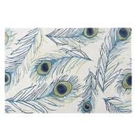 Getufteter Woll-Teppich mit Muster 140x200 Paon