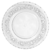 Glass Serving Plate Classica