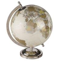 Globe terrestre carte du monde effet vieilli Clemence