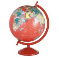Globus , rot School