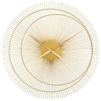 DUBAI - Gold metal clock D60cm